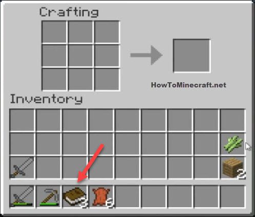 Book Minecraft recipe
