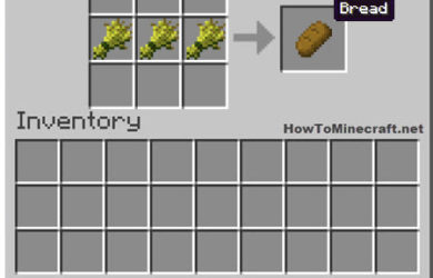 How to make Bread in Minecraft