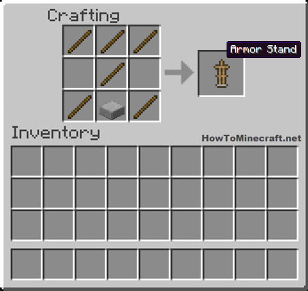 How to make a Armor Stand in Minecraft
